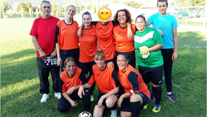 Photo of Le premier match en équipe féminine à 8