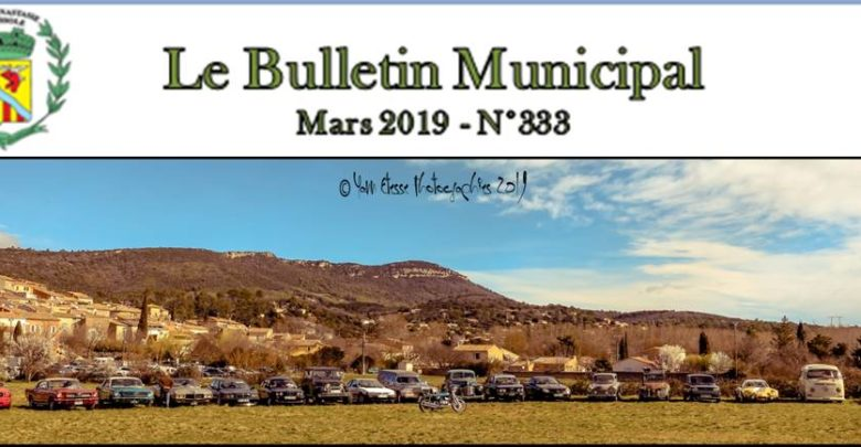 Photo of Bulletin Municipal Mars 2019
