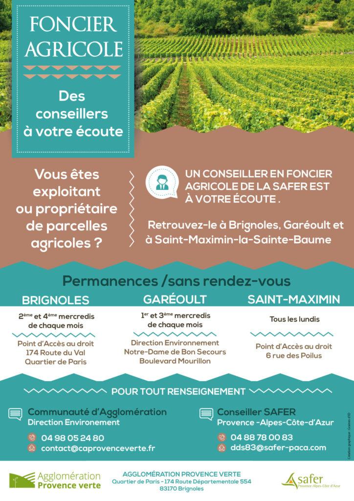 FONCIER AGRICOLE – Ste Anastasie S/Issole
