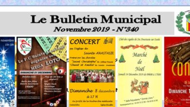 Photo of Bulletin Municipal Novembre 2019