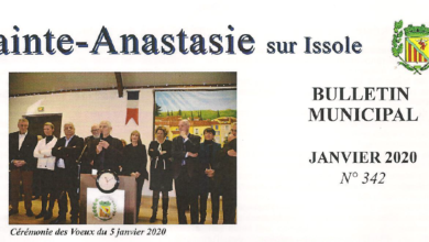 Photo of Bulletin Municipal Janvier 2020