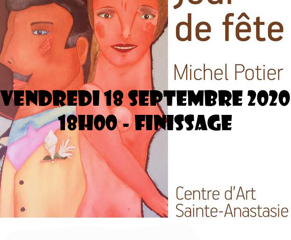 Photo of Centre d'art – Exposition Jour de fête – Finissage 18 09 2020