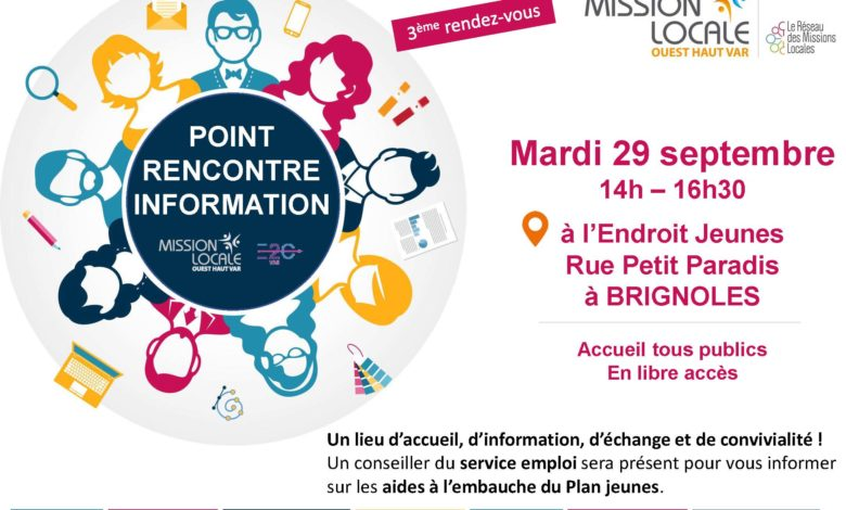 Photo of Mission Locale – Point Rencontre information