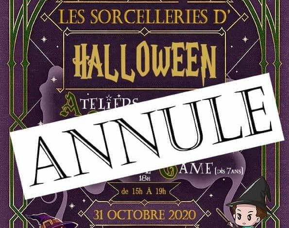 Photo of Halloween – 31 octobre – 15h/19h