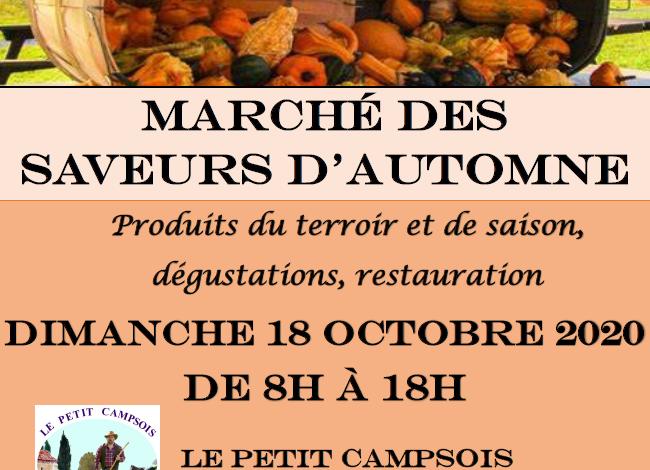 Photo of Marché des saveurs d'Automne – 18 octobre