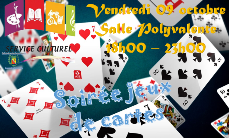 Photo of Soirée Jeux de cartes