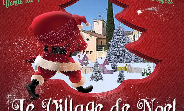 Photo of Le village de Noël – Place des Ferrages