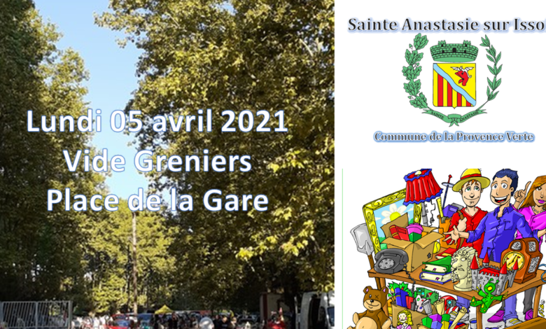 Photo of Vide Greniers – Avril 2021