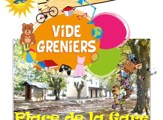 Photo of Vide Greniers – Juin 2021